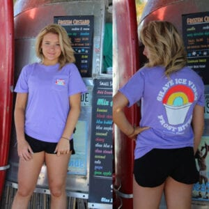 Rainbow Shave Ice Short Sleeve T-Shirt